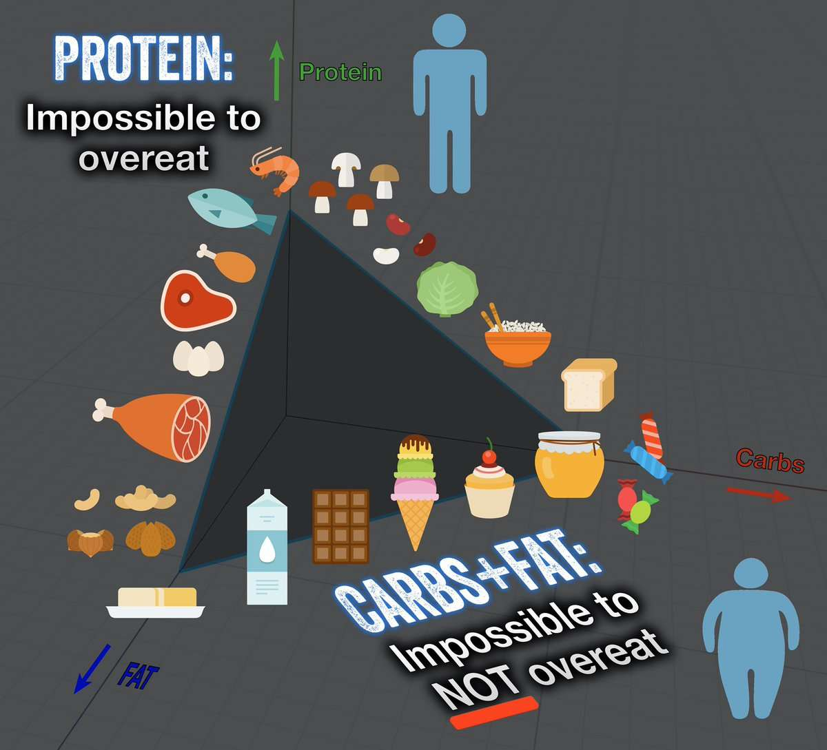 Is protein really more satiating than carbs and fats?